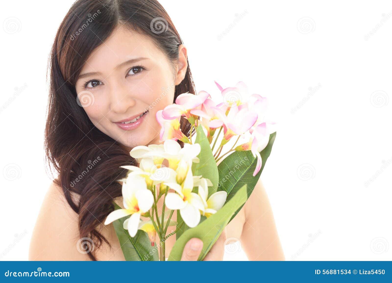 Sorridere della donna felice