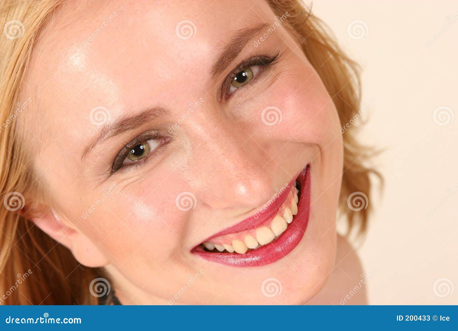 Sorridere di modello