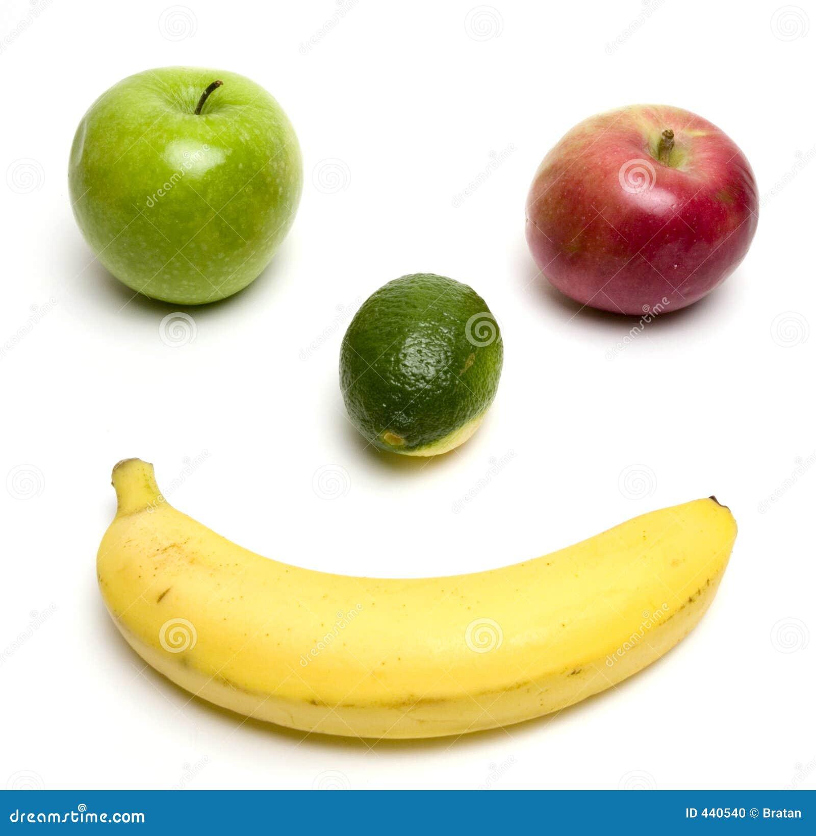 Sorriso al gusto di frutta