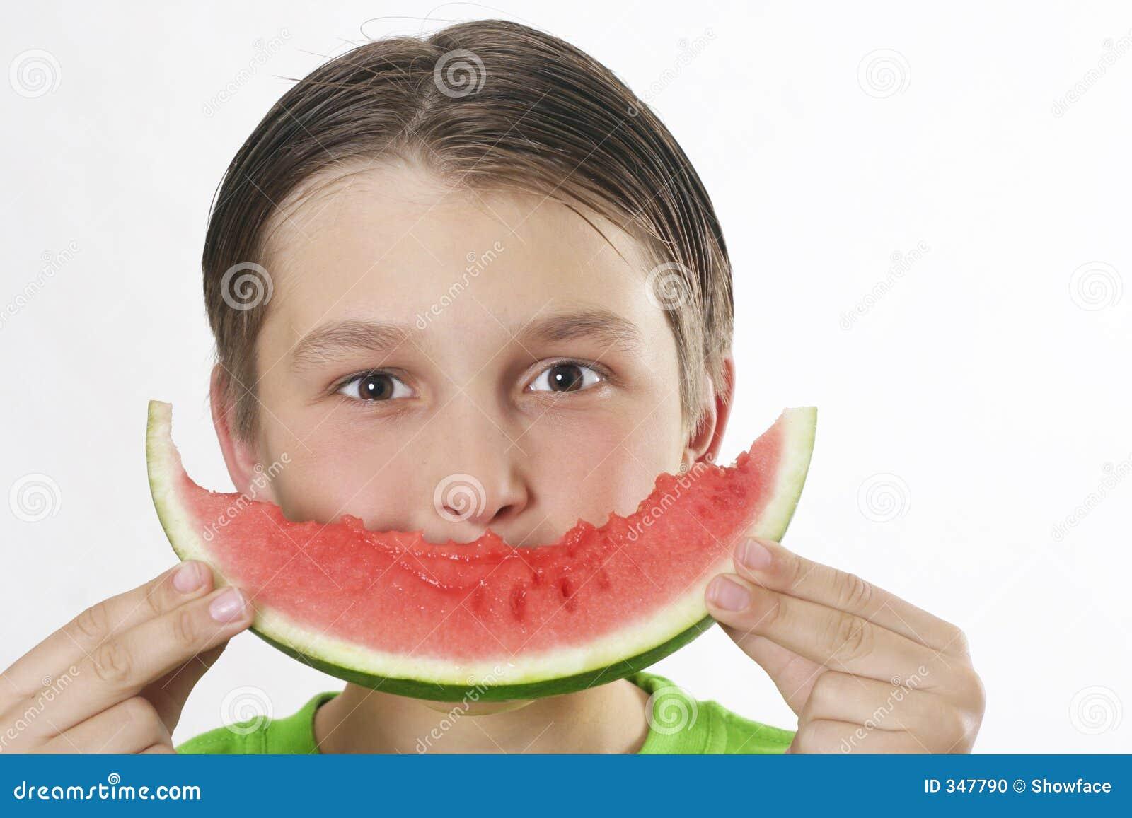 Sorriso da melancia