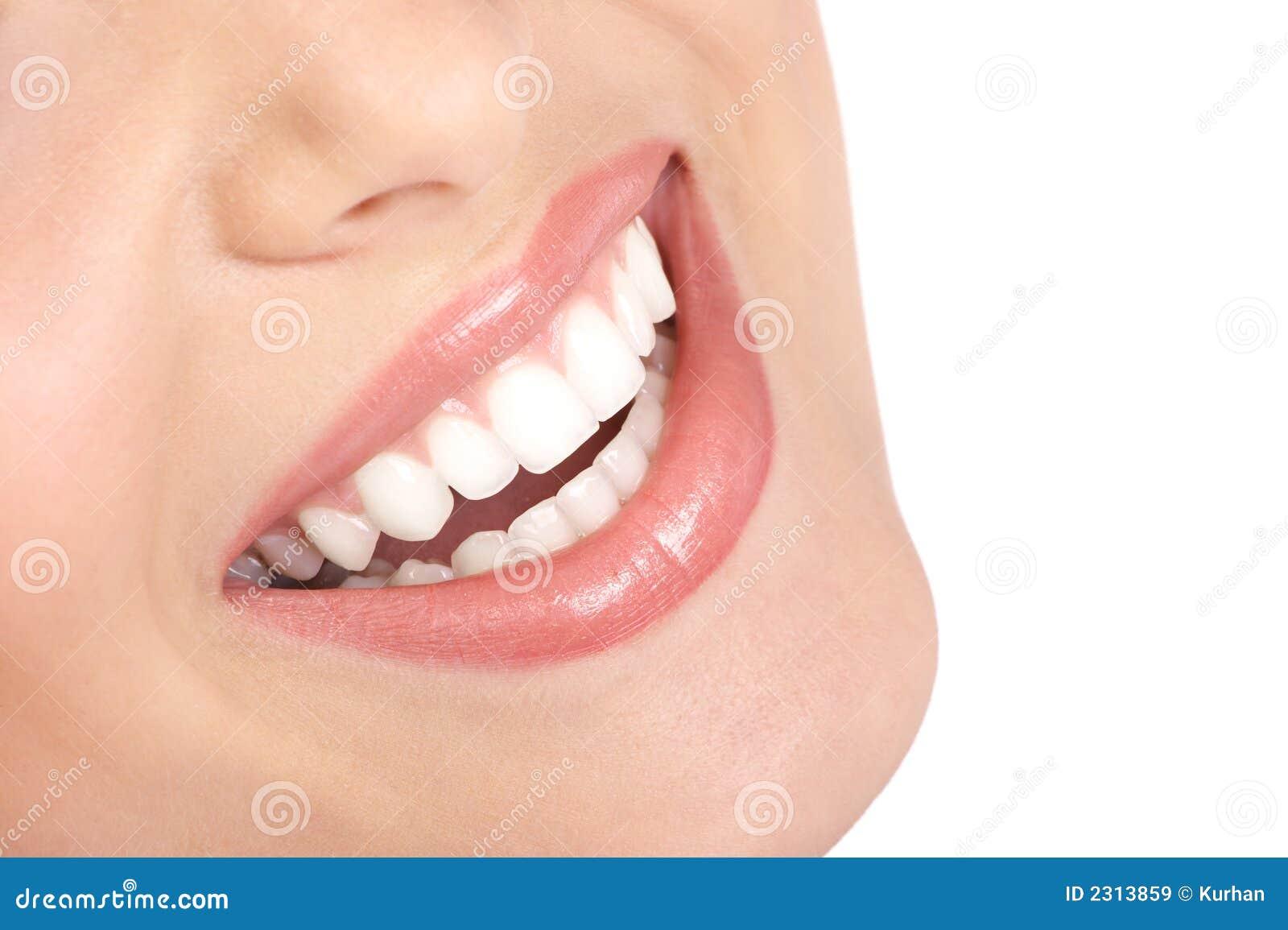 Sorriso da mulher