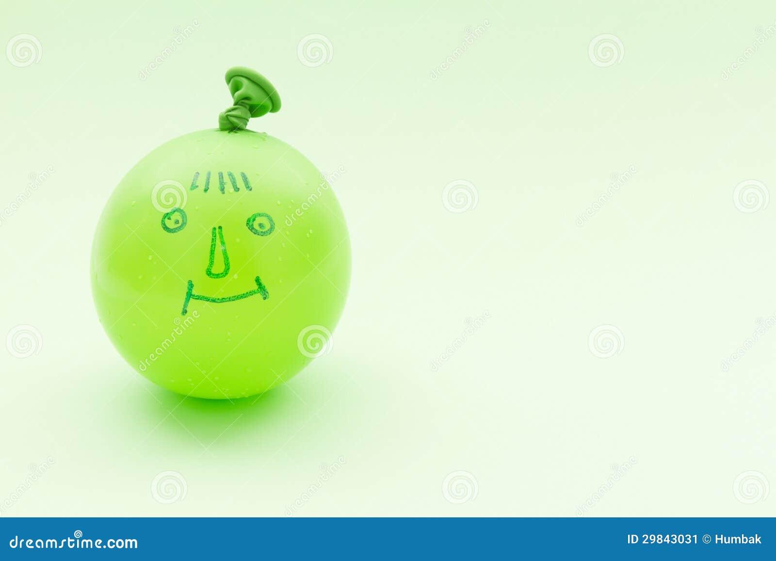 Balão com sorriso