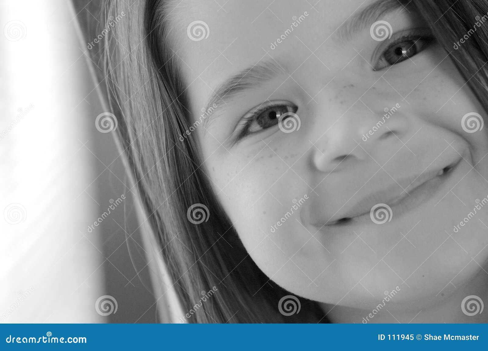 Sorriso doce das crianças