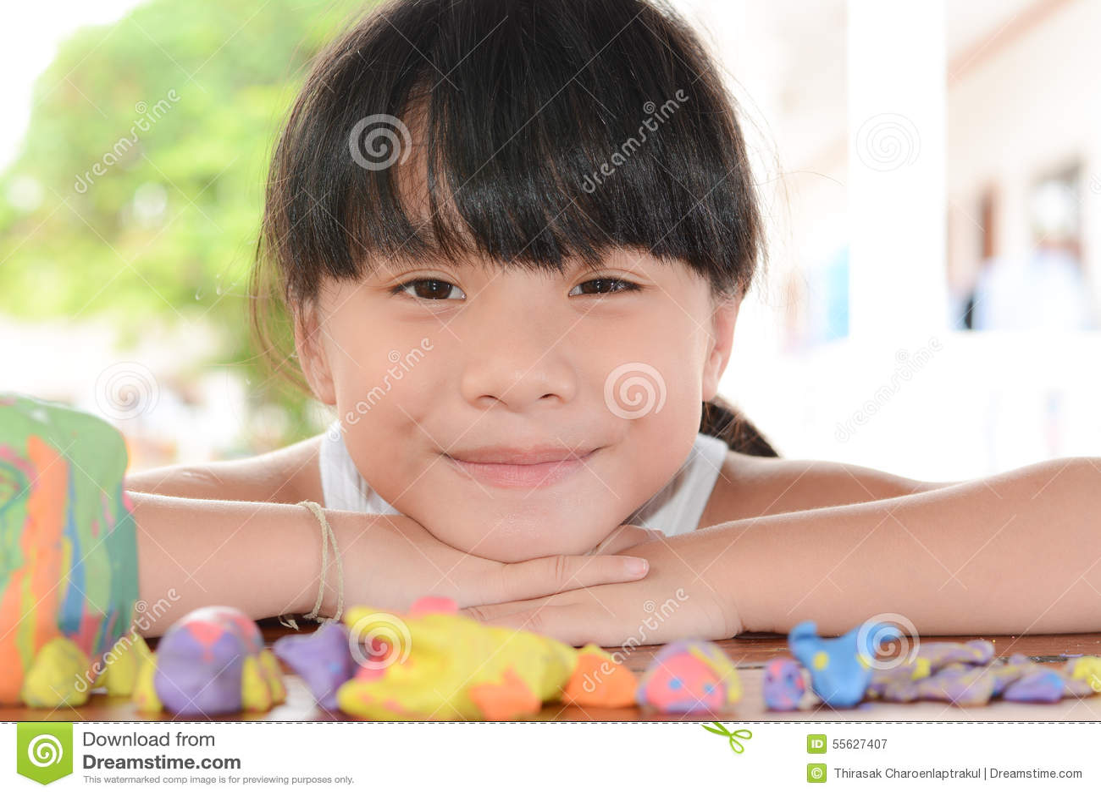 Sorriso dolce dei bambini