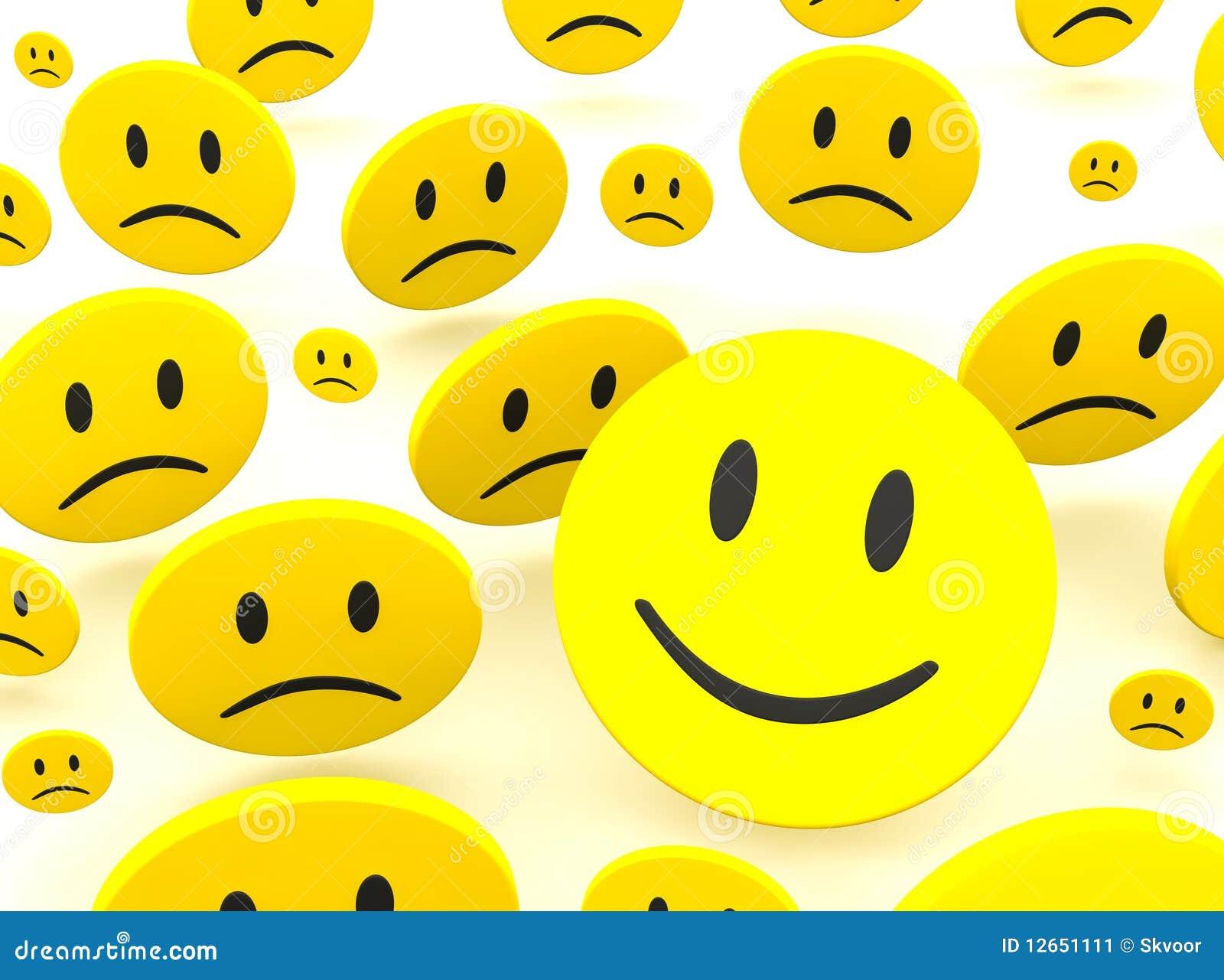 Sorriso e tristezza