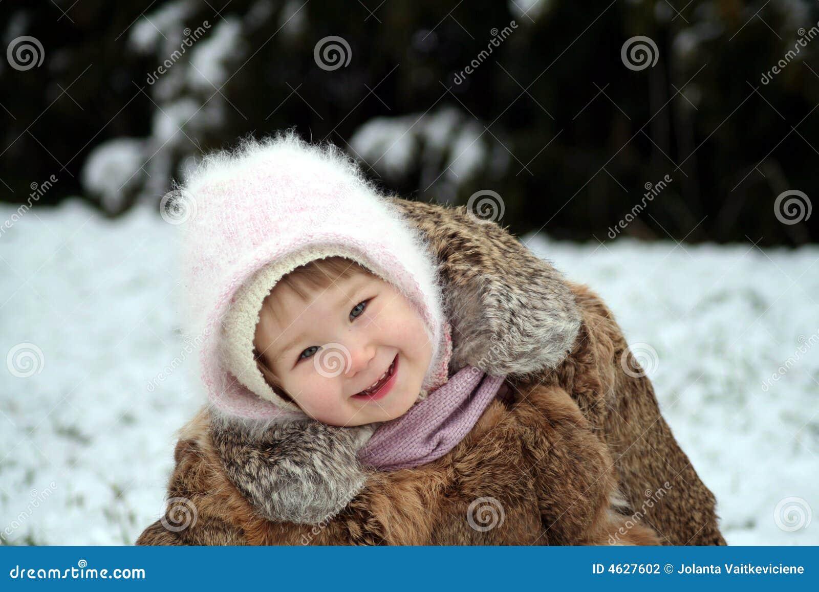 Sorriso na neve
