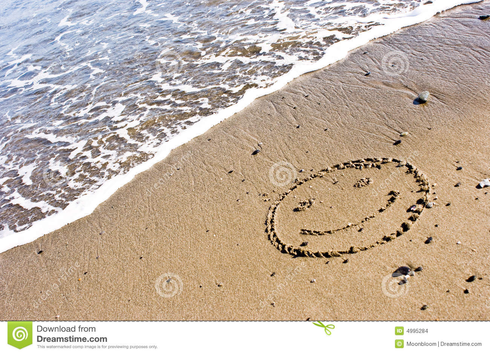 Sorriso nella sabbia