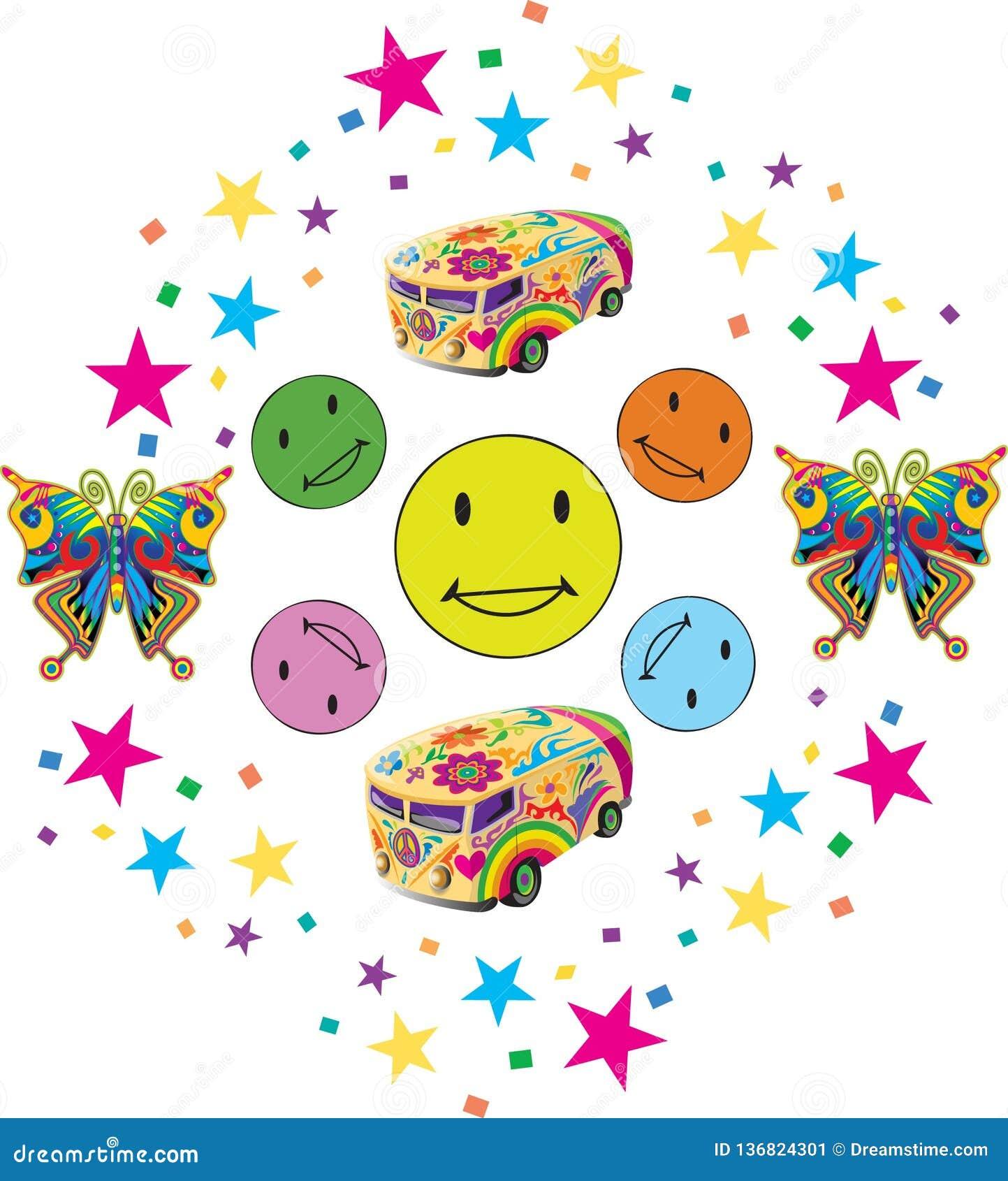Sorrisos coloridos com Confettii e brinquedos