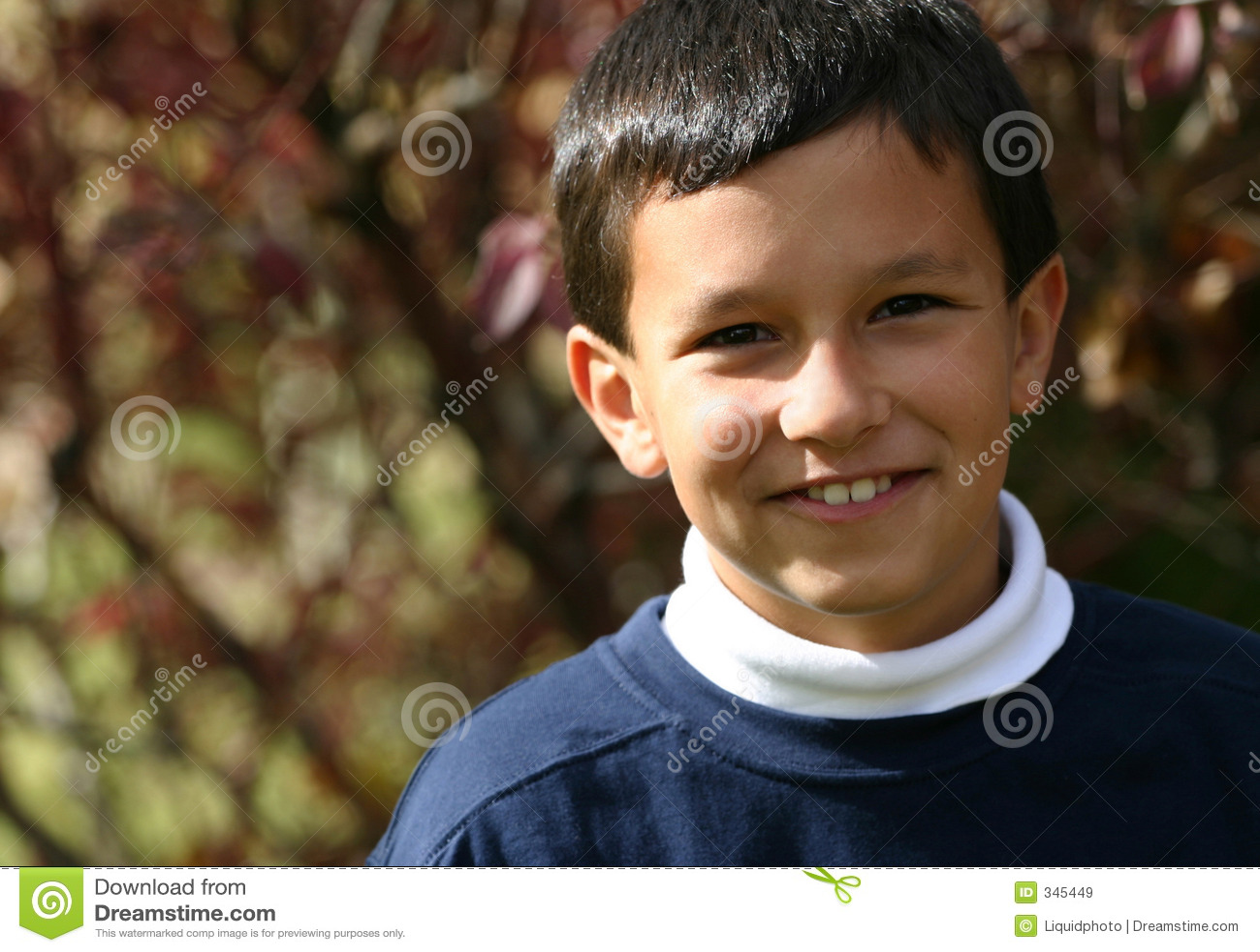 Sorrisos do menino