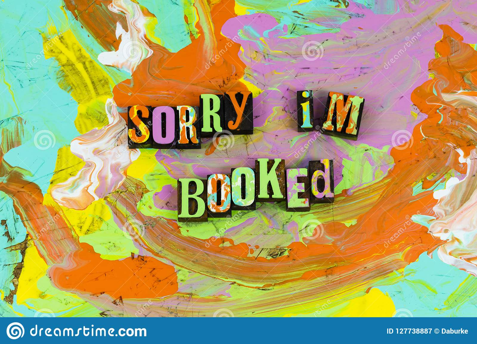 Sorry booked reading