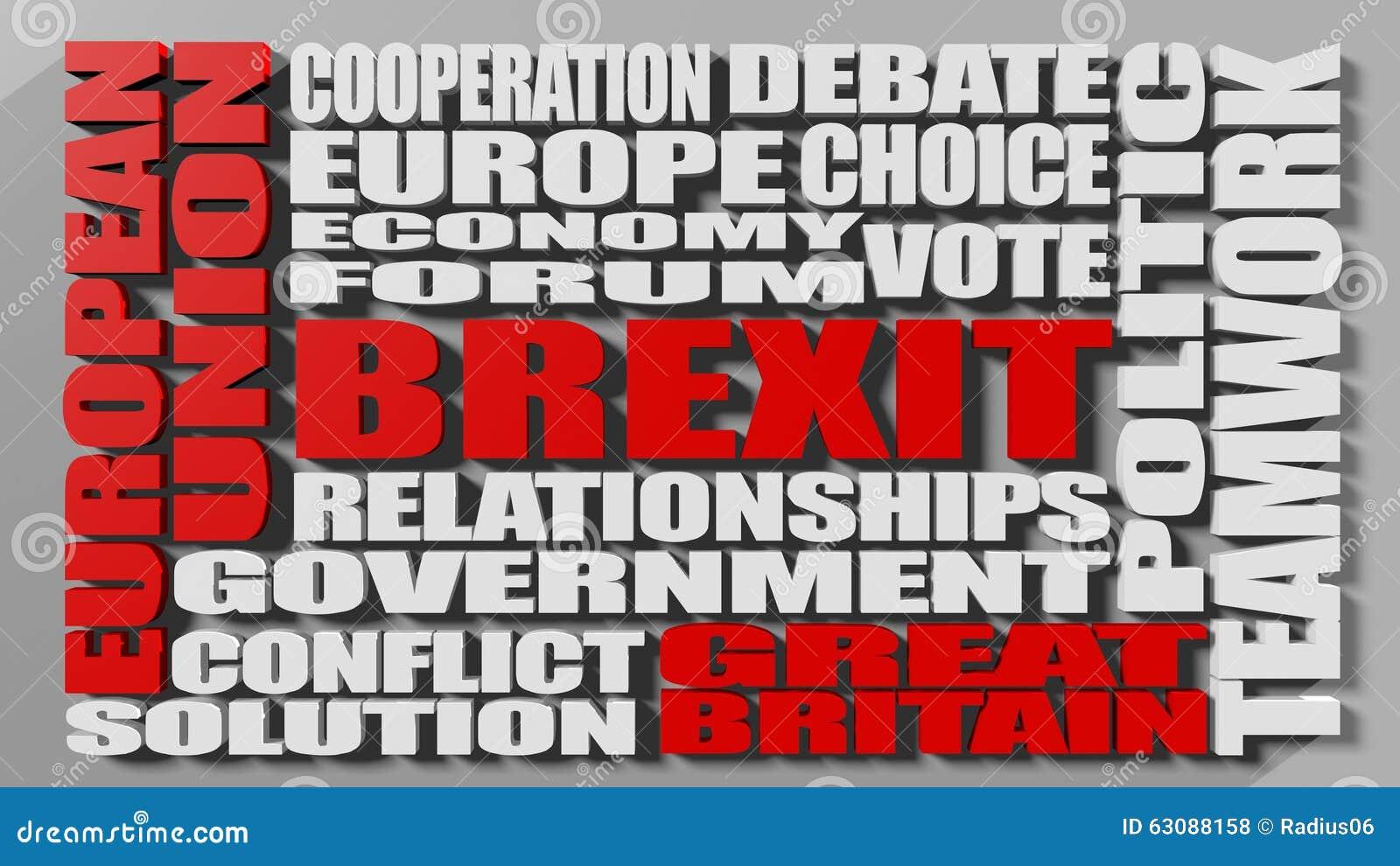 Download Sortie De La Grande-Bretagne D'Union Européenne Brexit Illustration Stock - Illustration du culture, géographique: 63088158