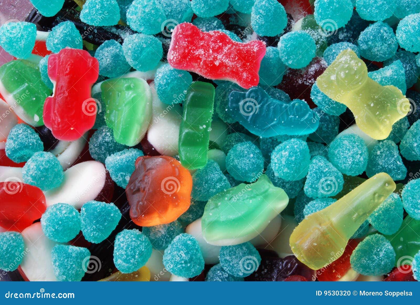 Sortierte Süßigkeit