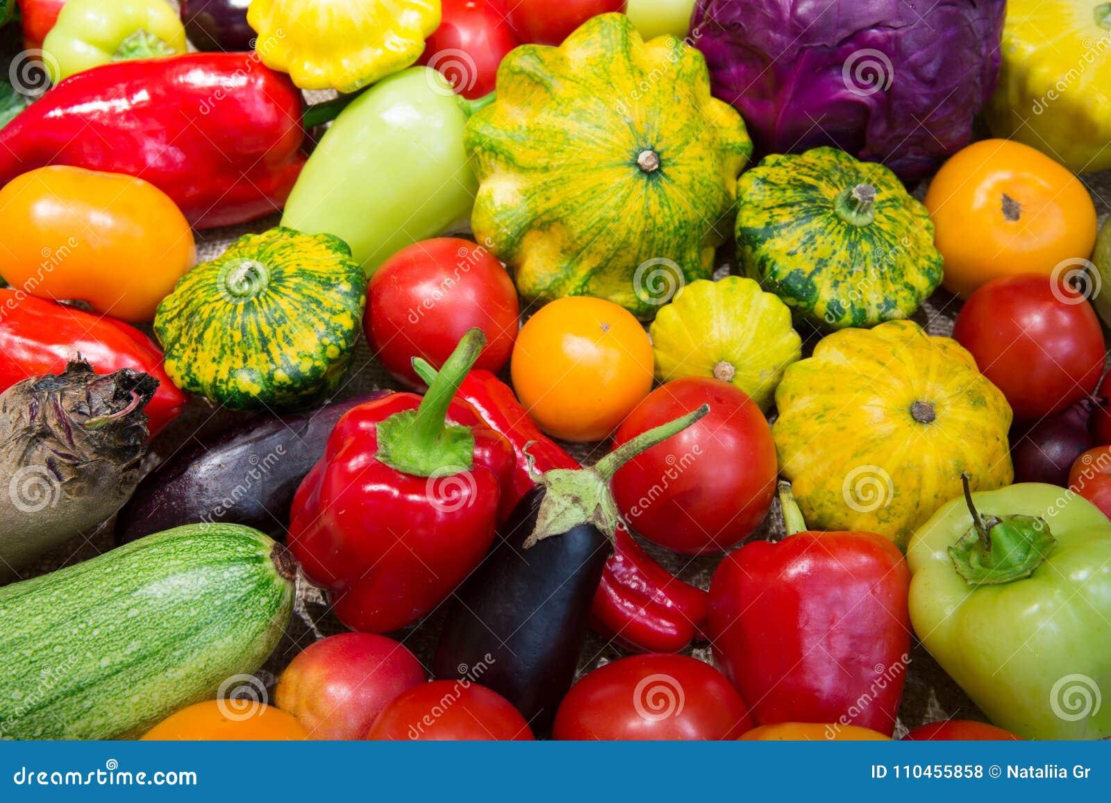 Sortiment av grönsaker
