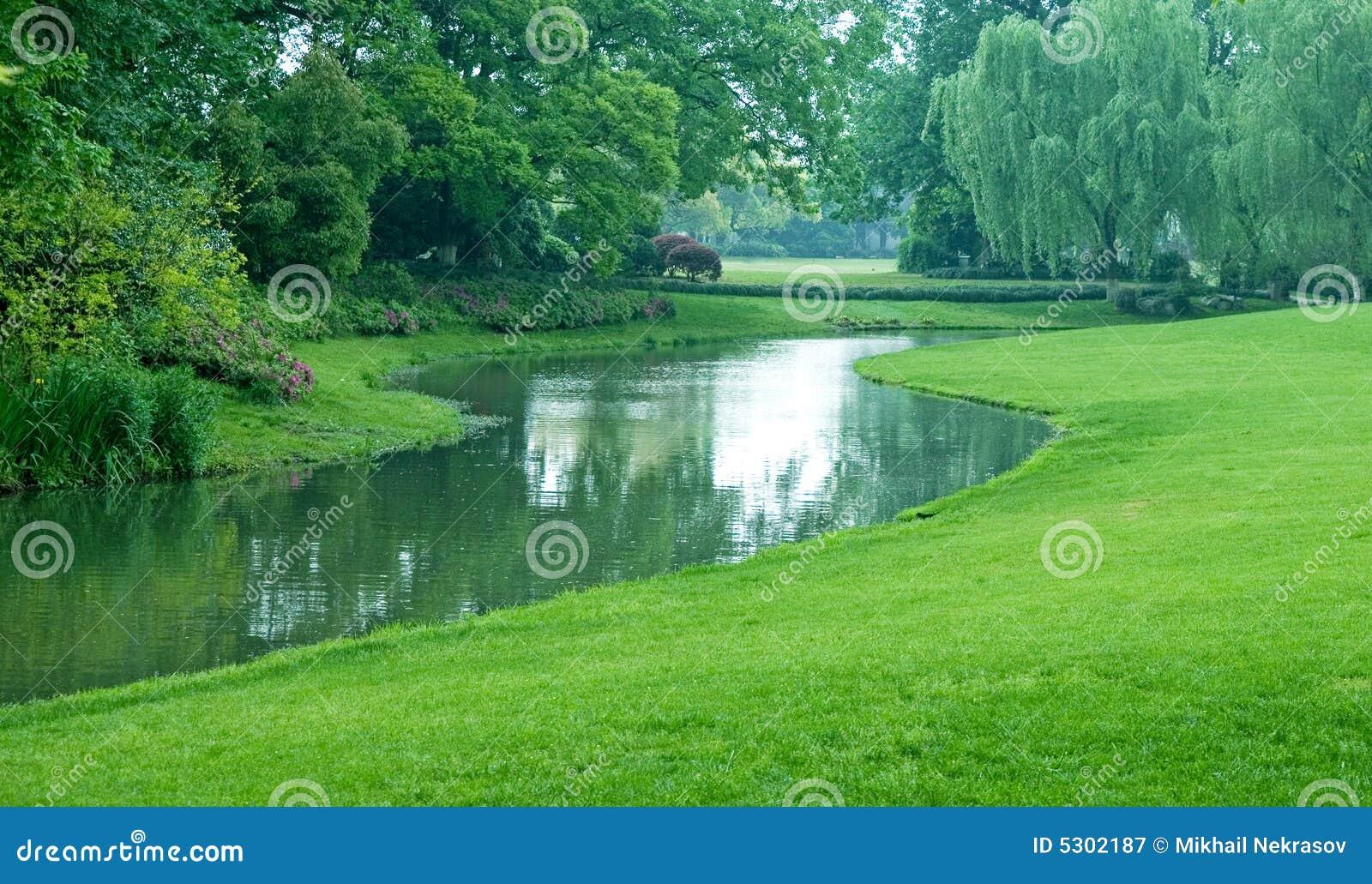 Download Sosta verde immagine stock. Immagine di parco, orientale - 5302187