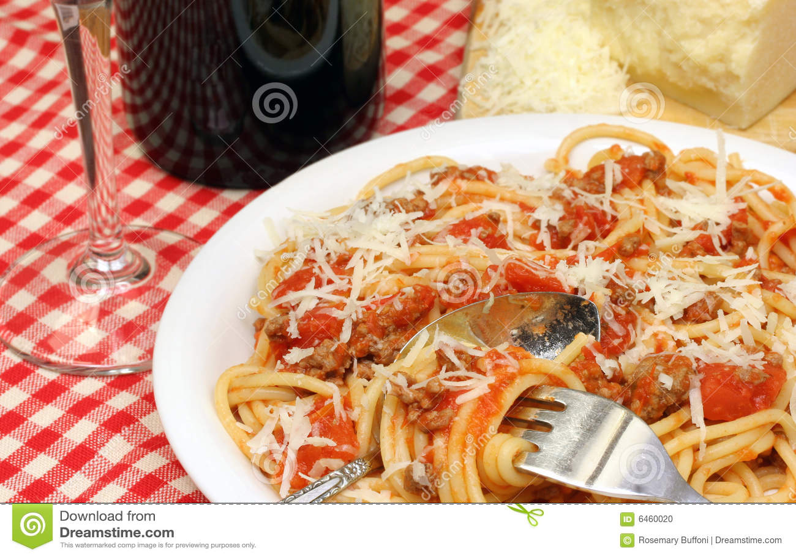 Sosu spaghetti