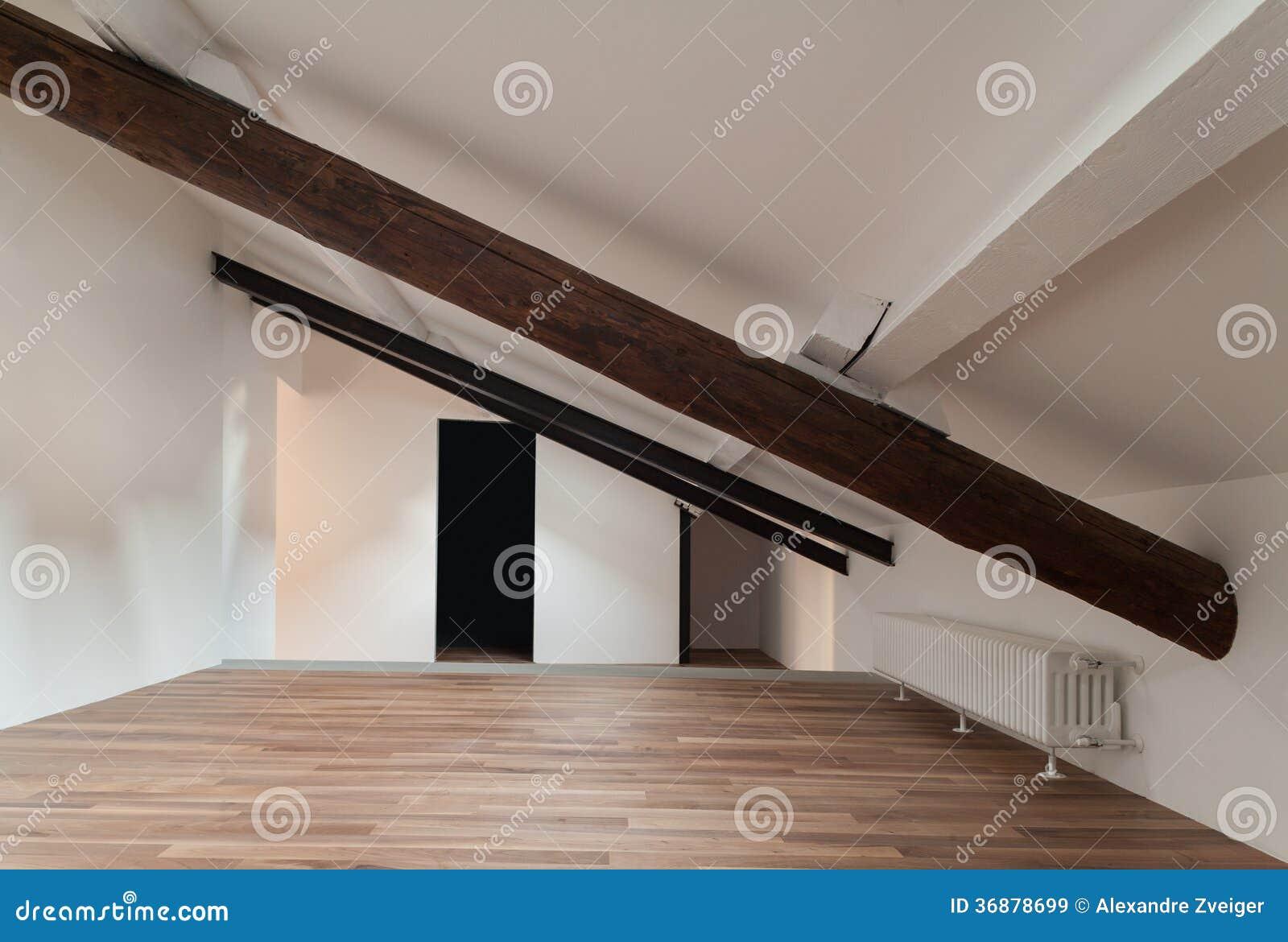 Download Sottotetto Piacevole Interno Immagine Stock - Immagine di casa, contemporaneo: 36878699