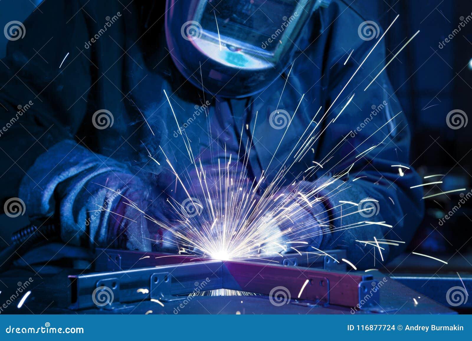 Soudeuse érigeant l acier technique