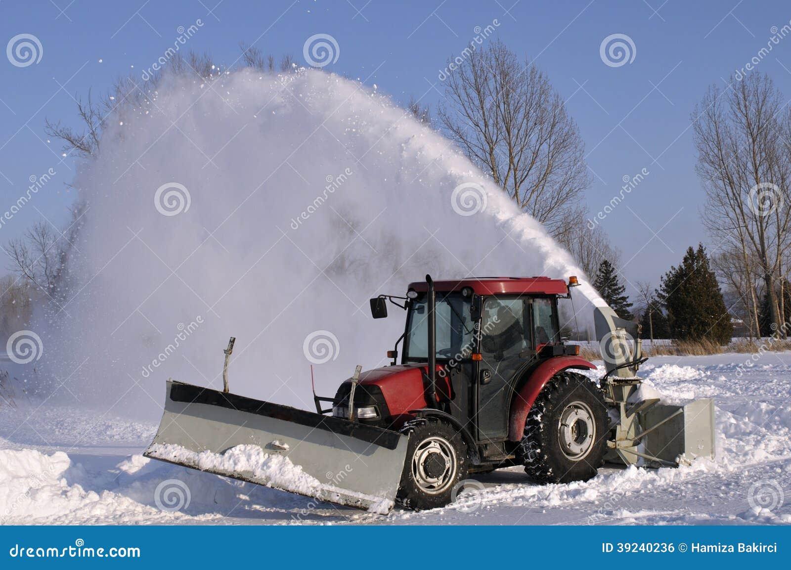 Souffleuse de neige