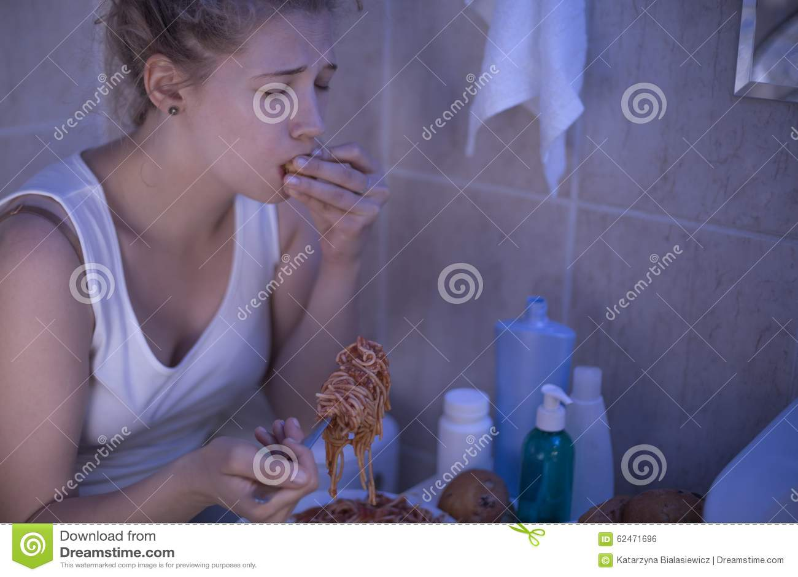Souffrance de la boulimie