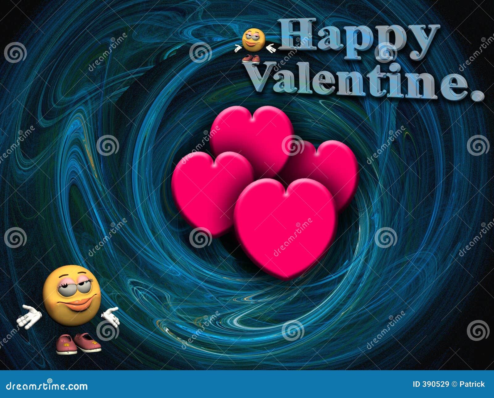 Souhaits de Valentine.