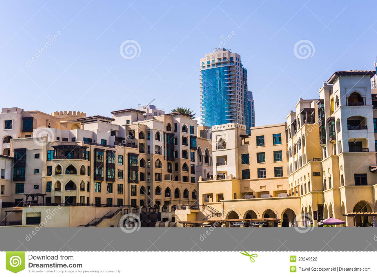 bd6285b30c0 Souk al Bahar editorial photography. Image of facade - 29249622