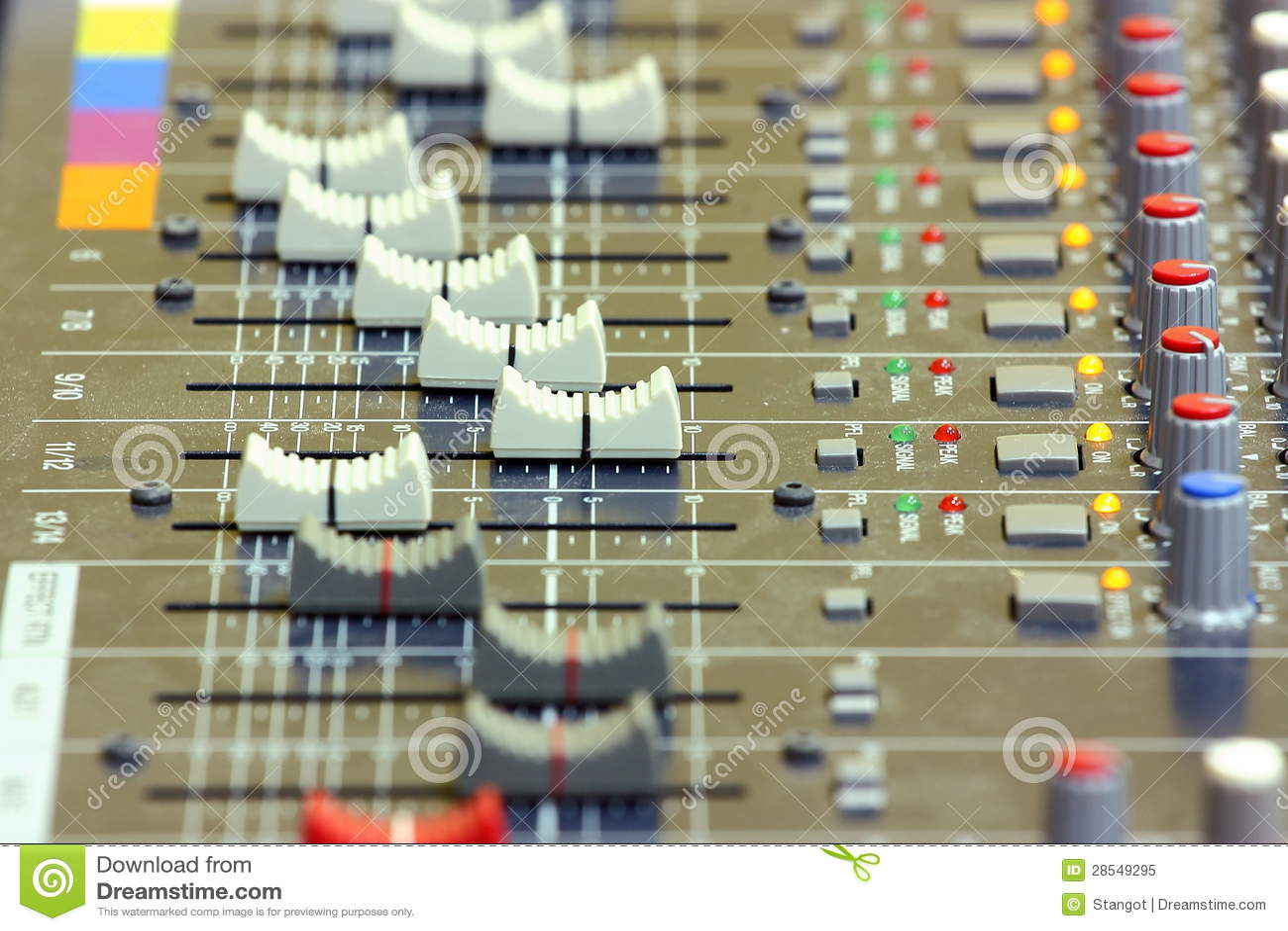 Sound blandning