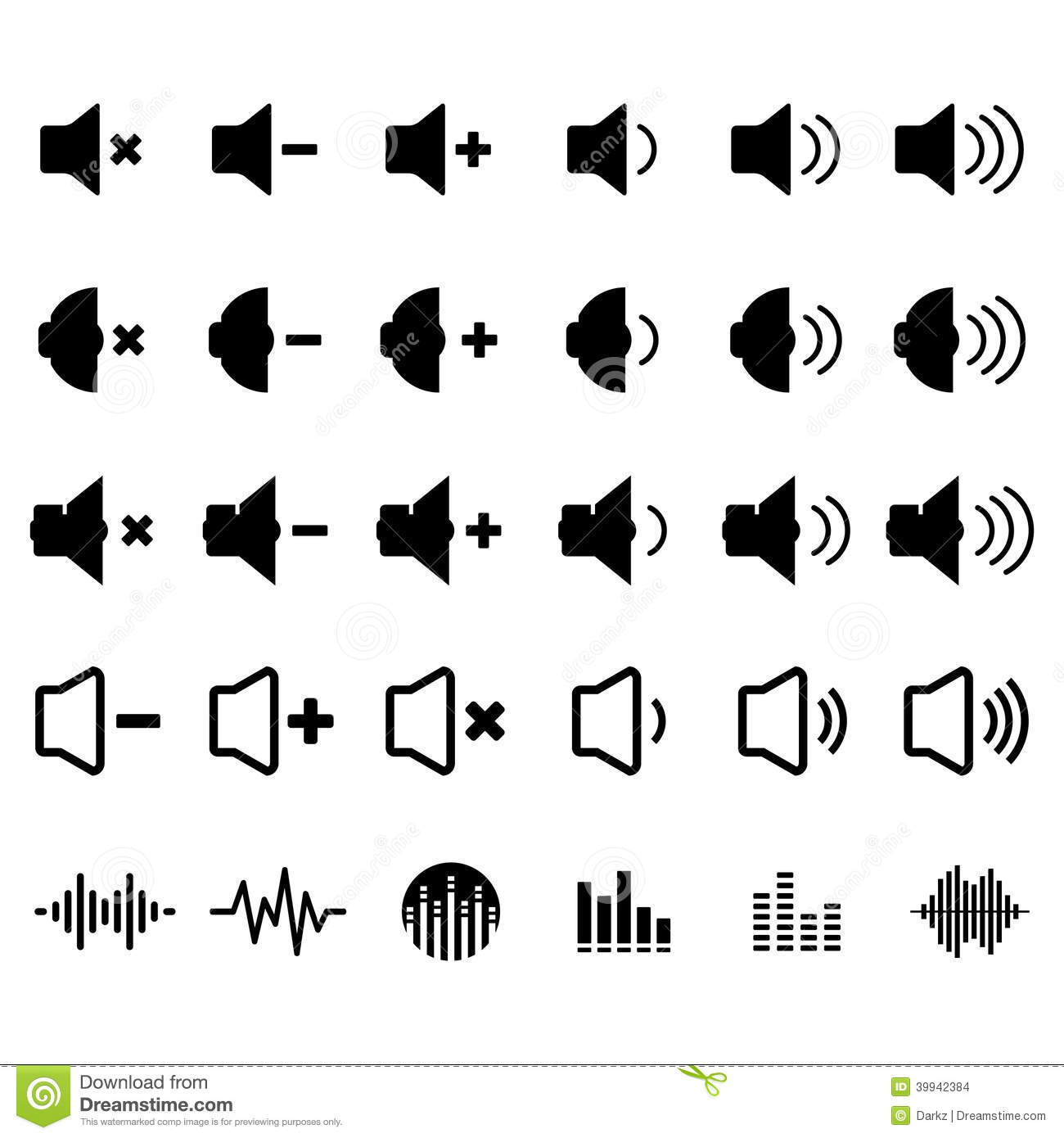 Sound and Equalizer Icon