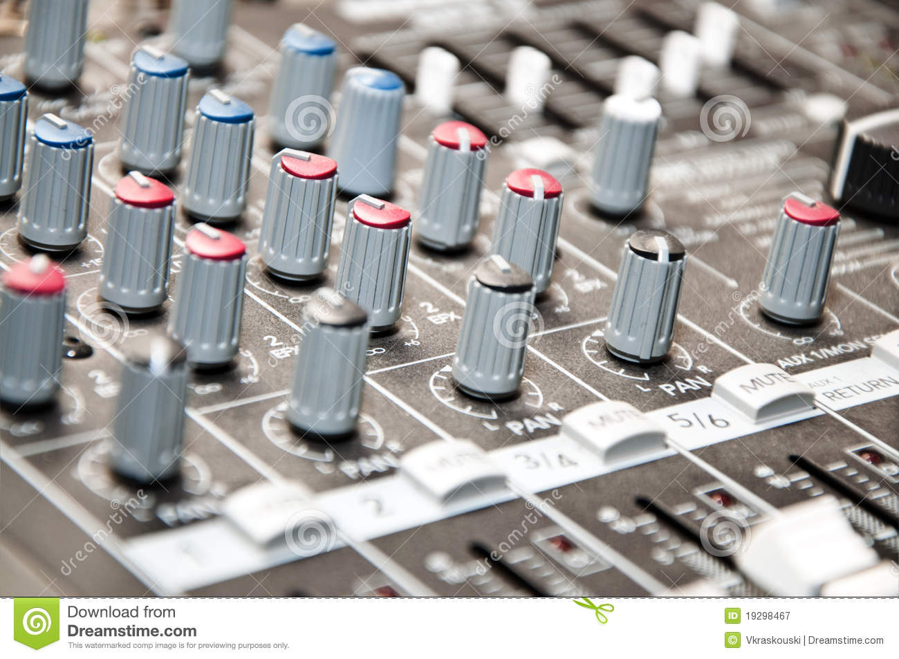 how to bring up sound mixer