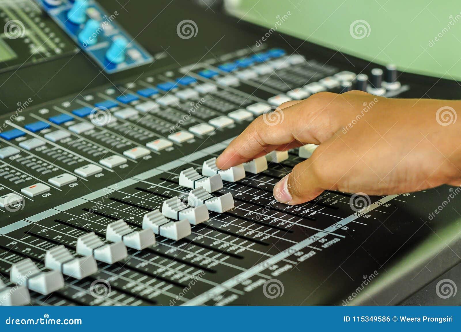 Audio Equipment, DJ, Radio, Video Game, Headphones Stock Photo