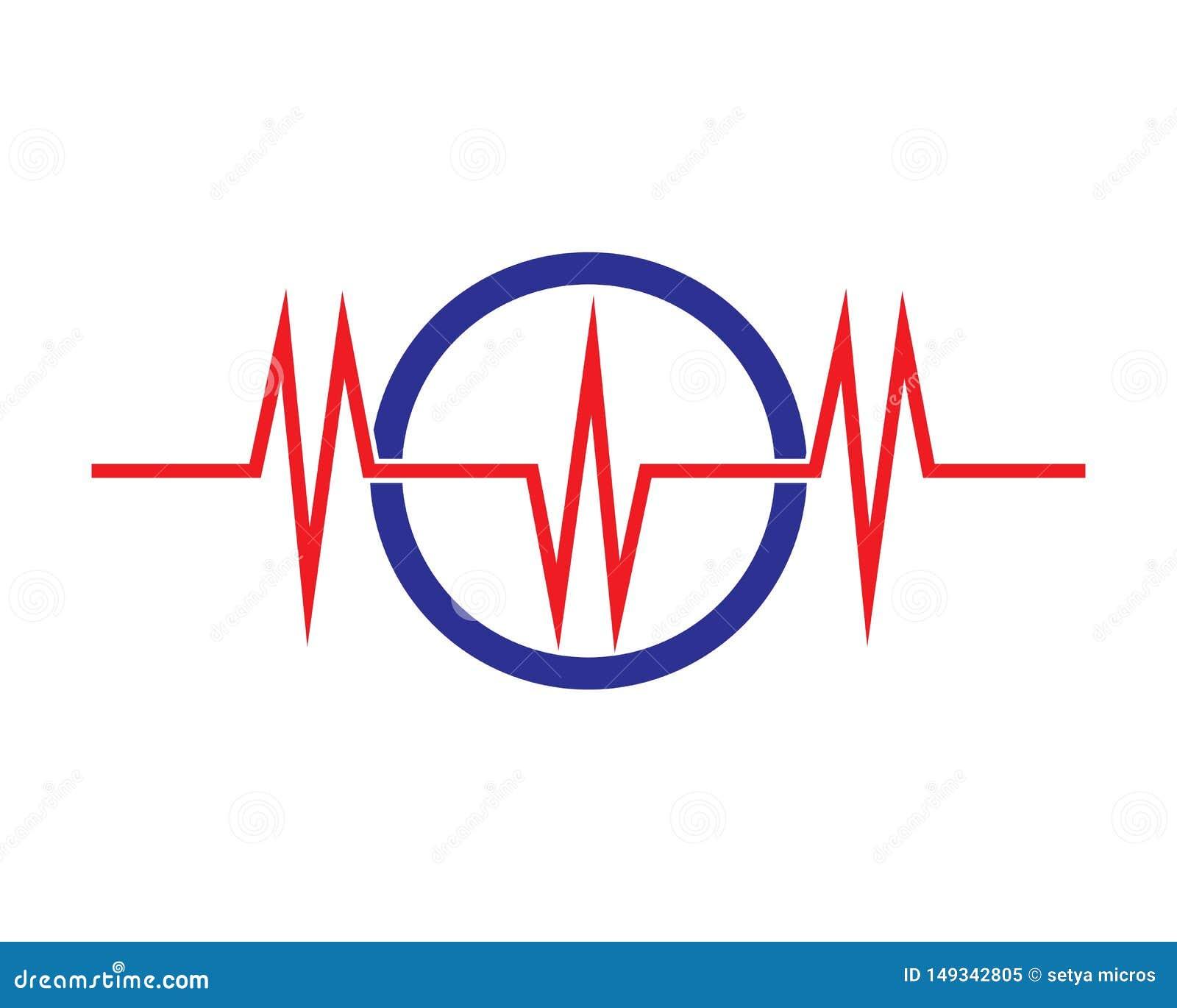 sound wave ilustration logo