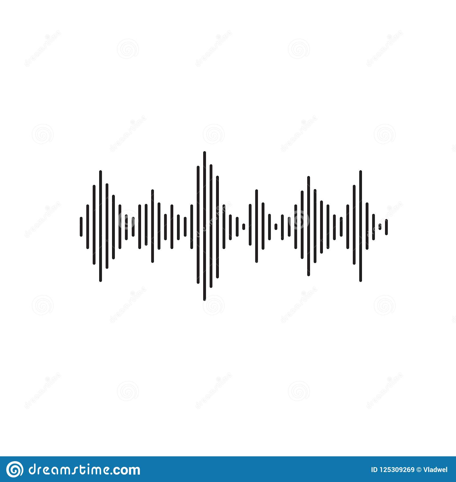Sound Waves Clip Art