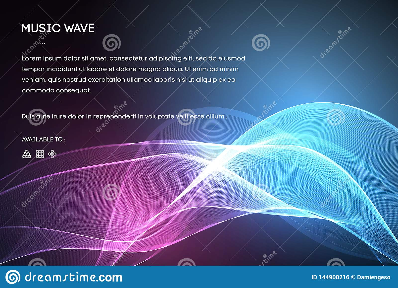Sound Wave Vector   Vector Music Voice Vibration, Song Waveform