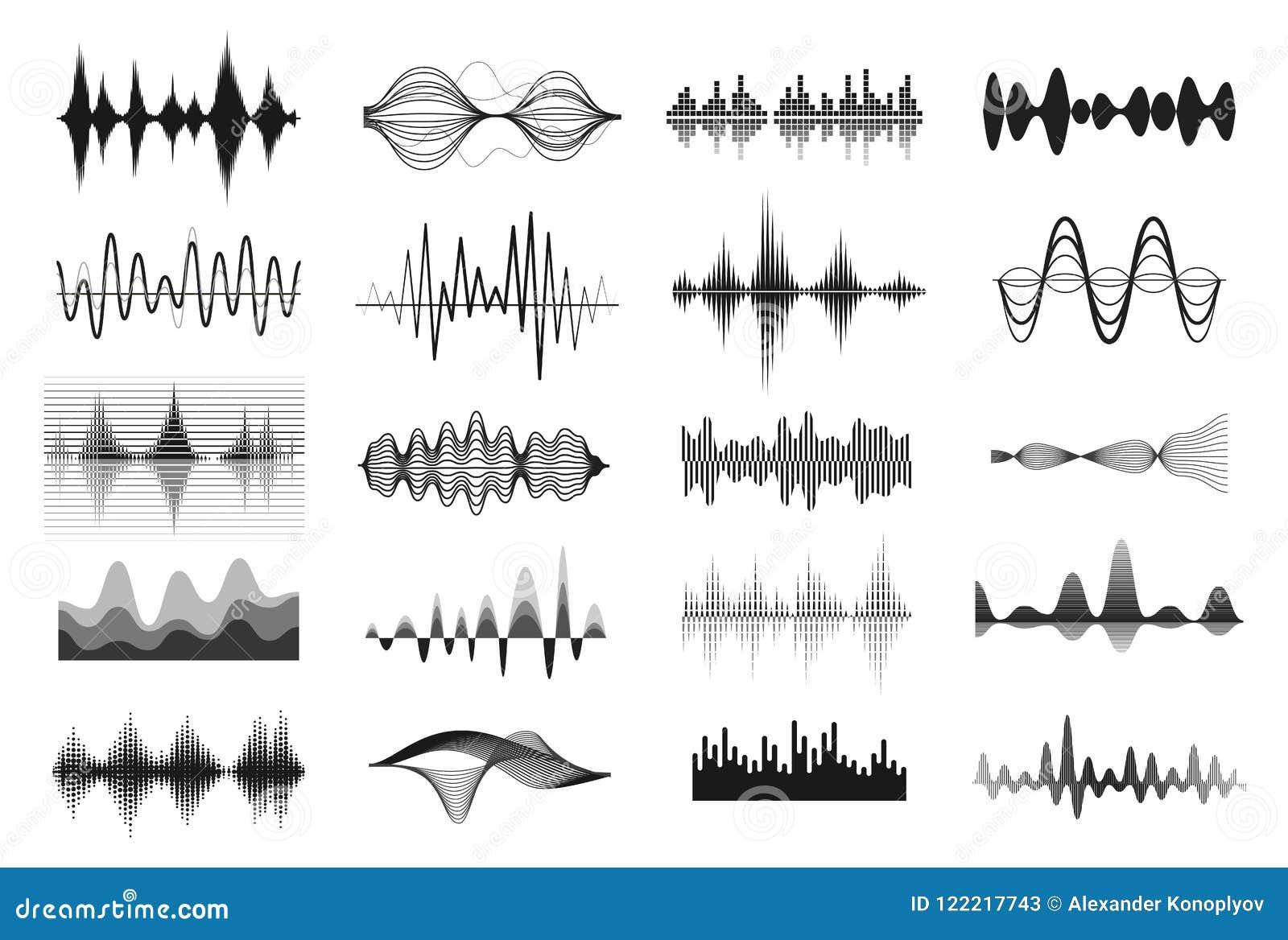 Sound waves för musik