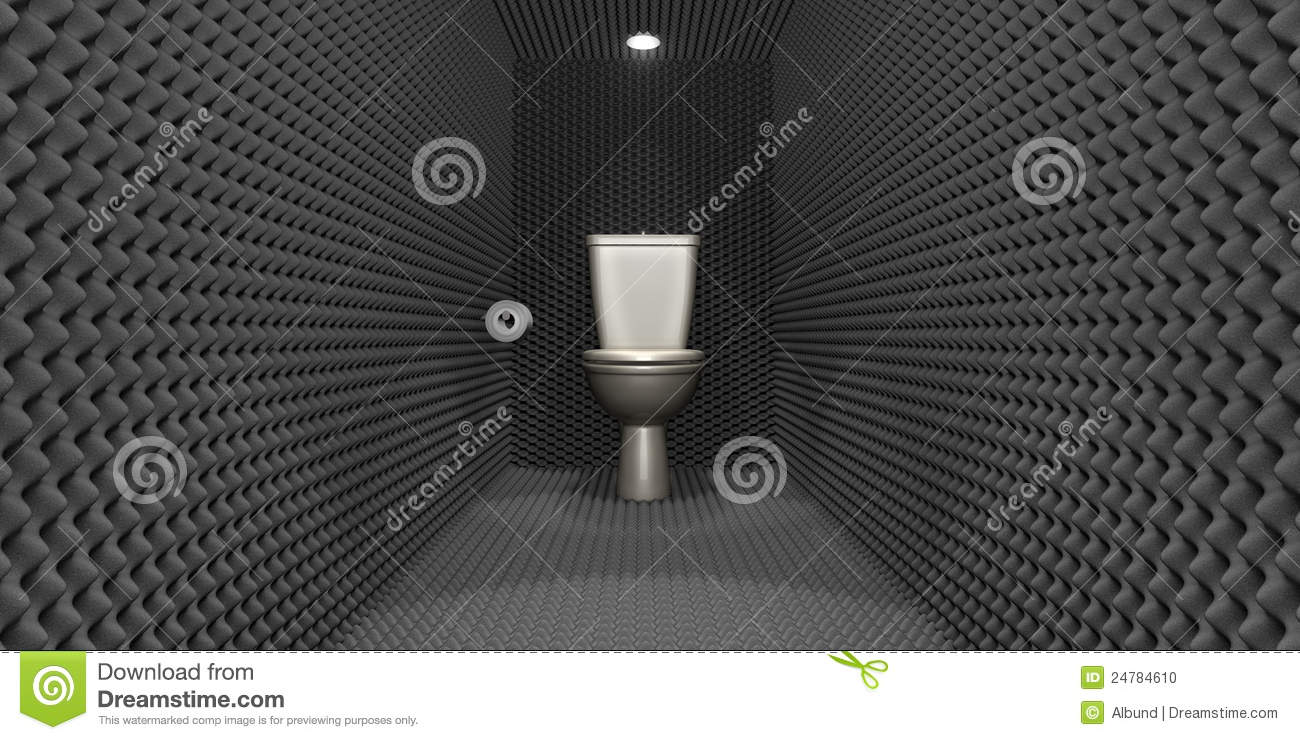 soundproof toilet cubicle stock photo image 24784610