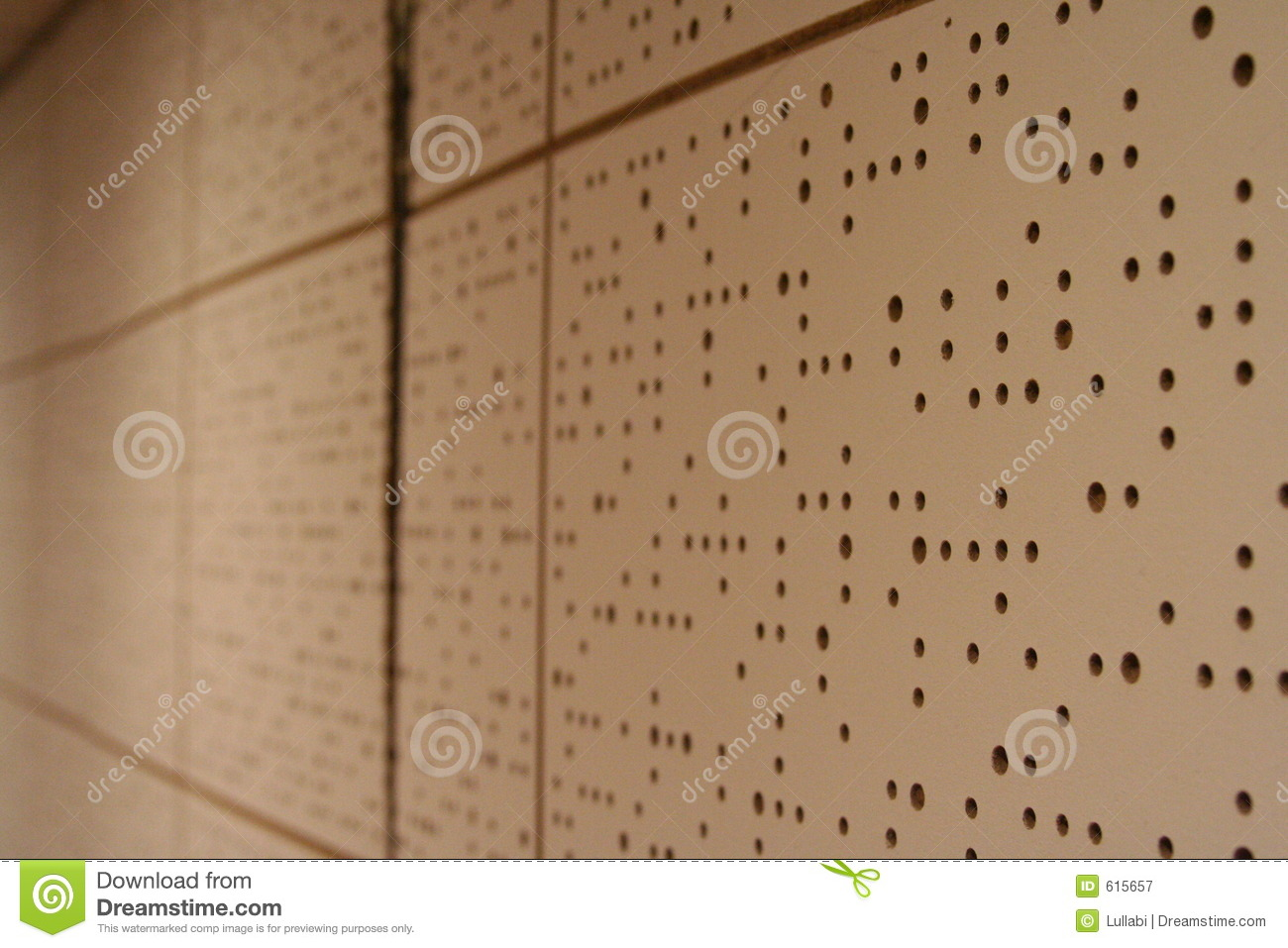 Soundproof wall in a bandroom royalty free stock photography image 615657 Soundproofing for walls interior