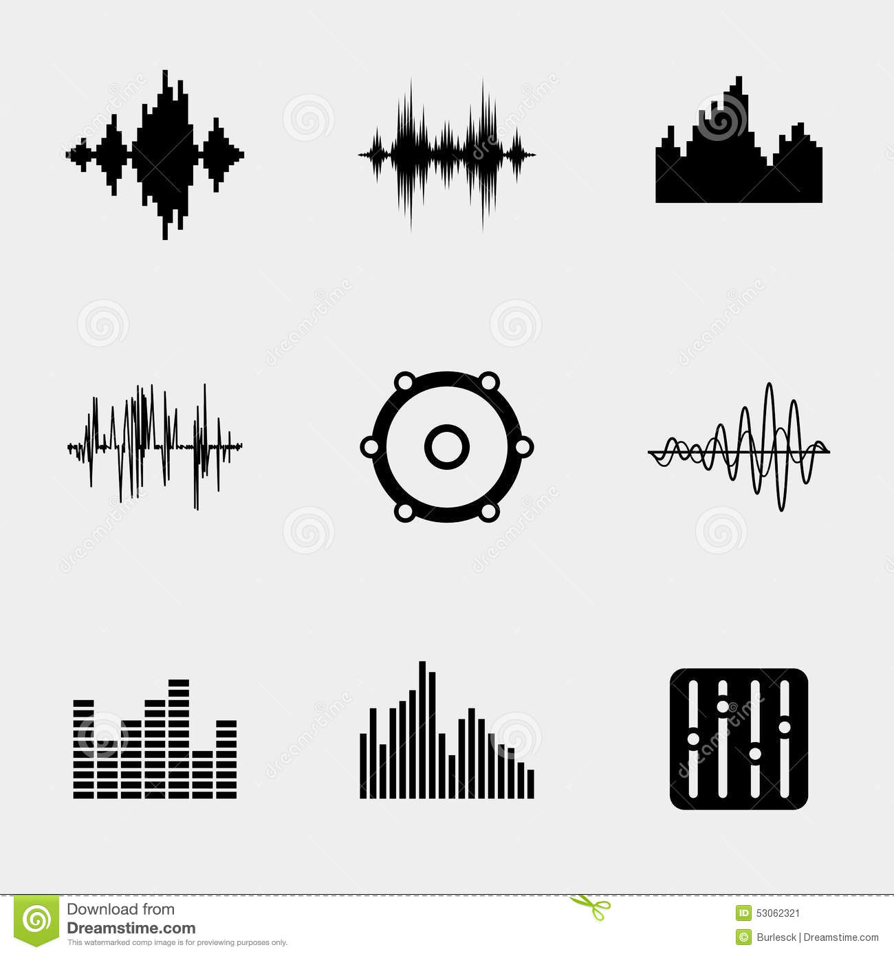 how to get a sound wave image