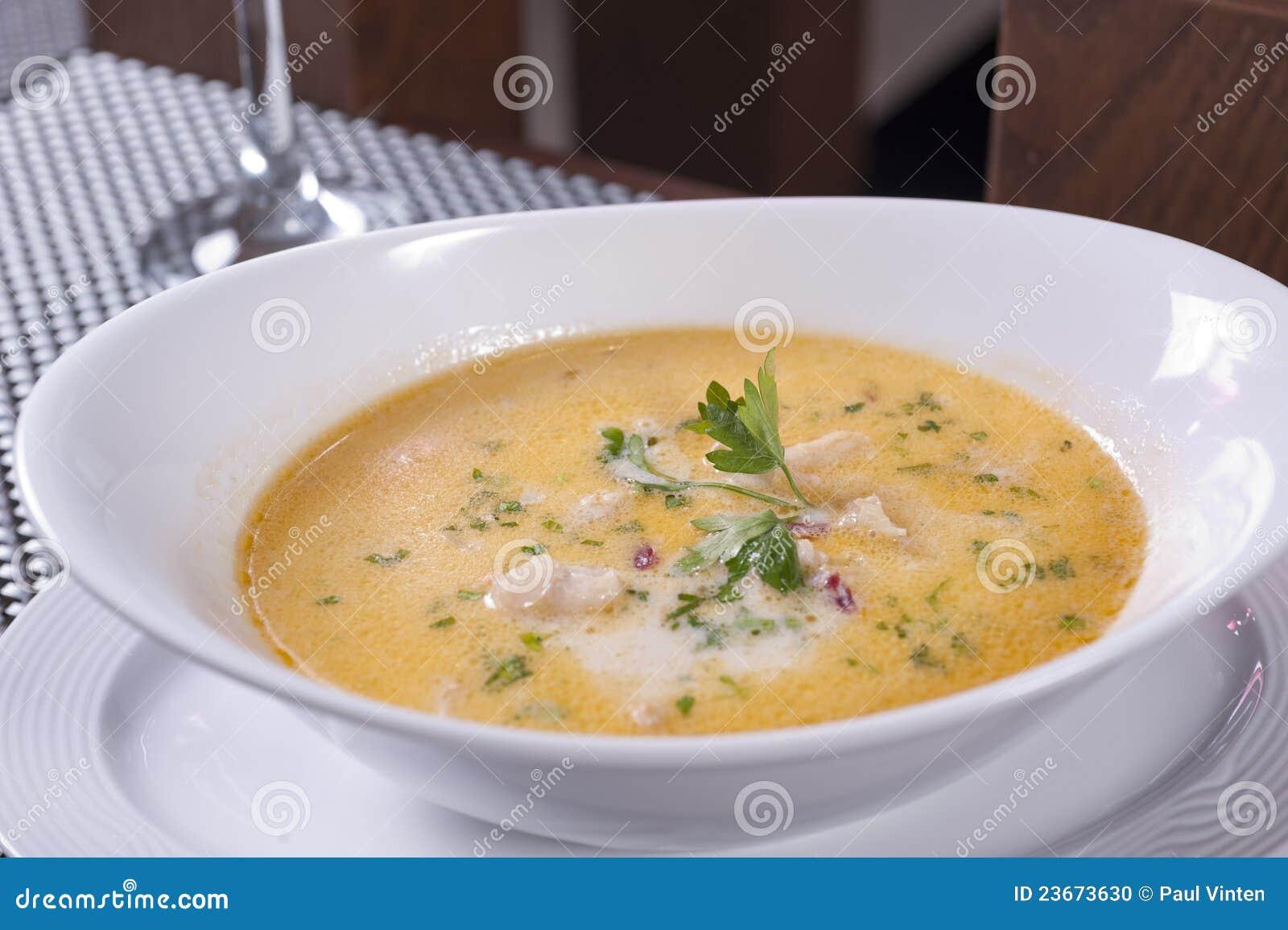 Mushroom Soup Clipart