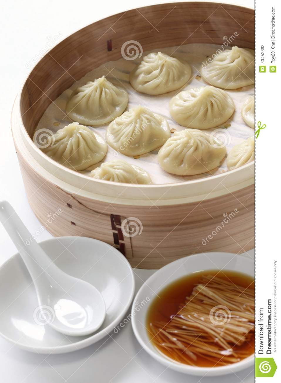 Soup Dumplings, Xiao Long Bao Stock Photos - Image: 30452393
