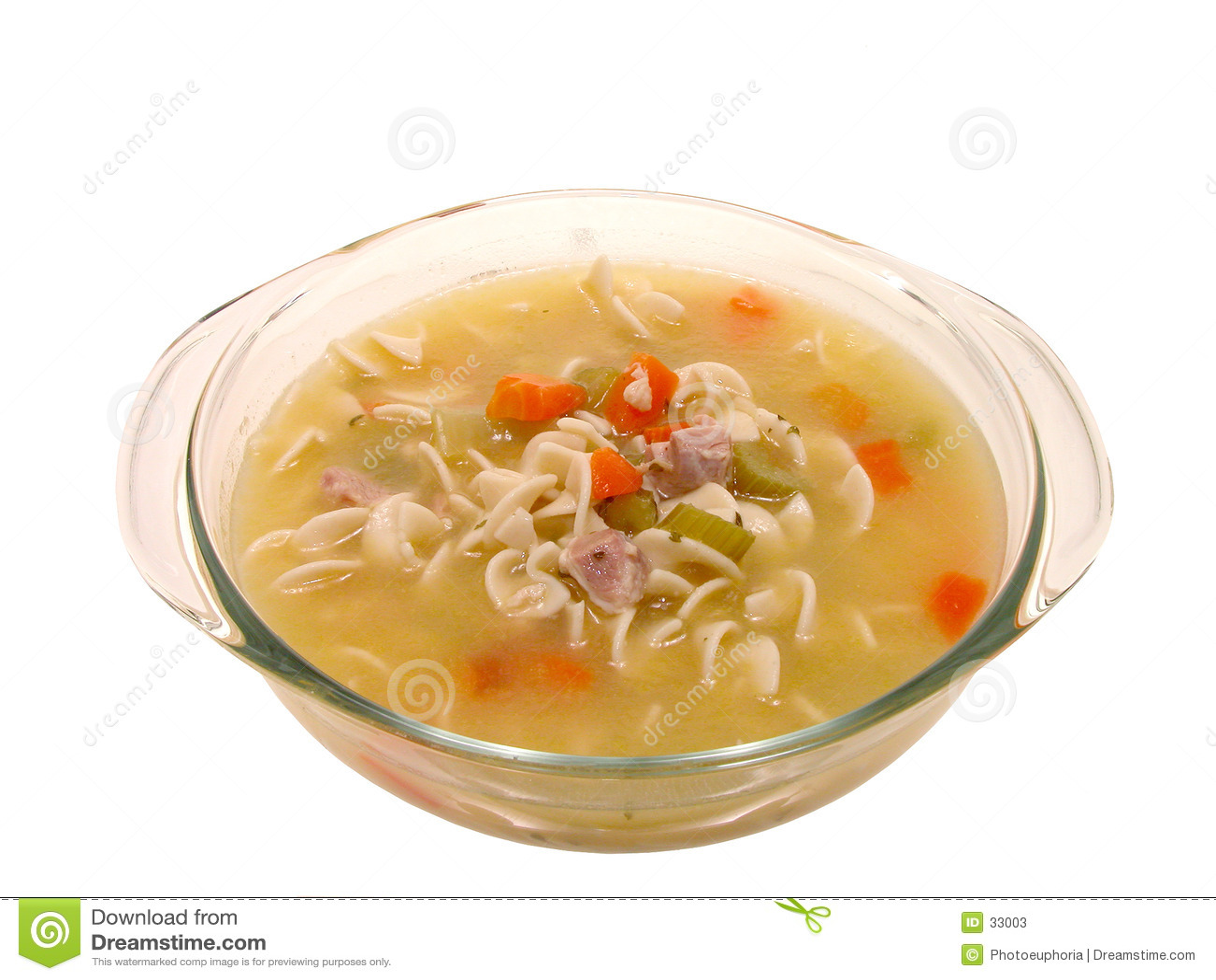Soup för nudel för feg chunky matlagningmaträttmat glass