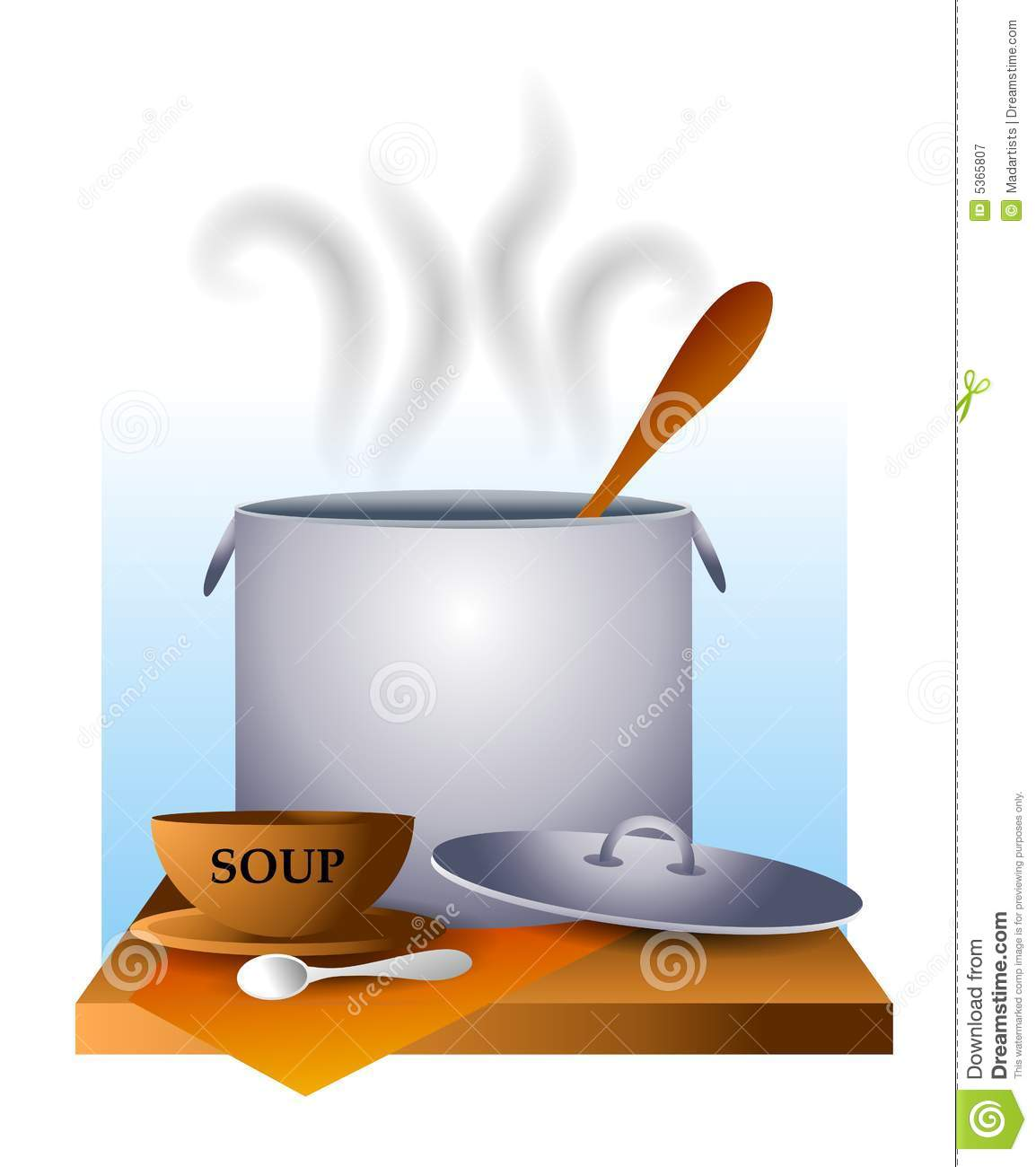 Soup Kitchen Pot and Bowl