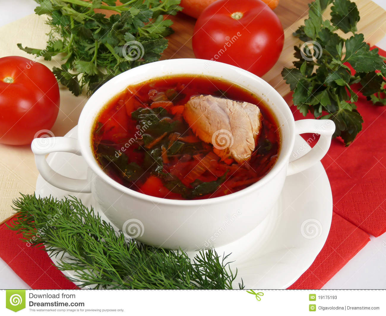 how to make meat broth soup