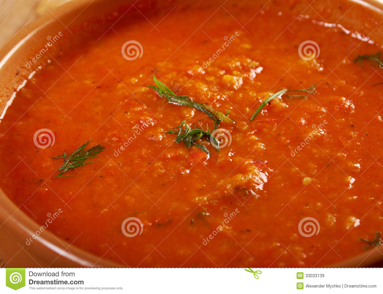 Soup Or Pappa Al Pomodoro Royalty Free Stock Images ...