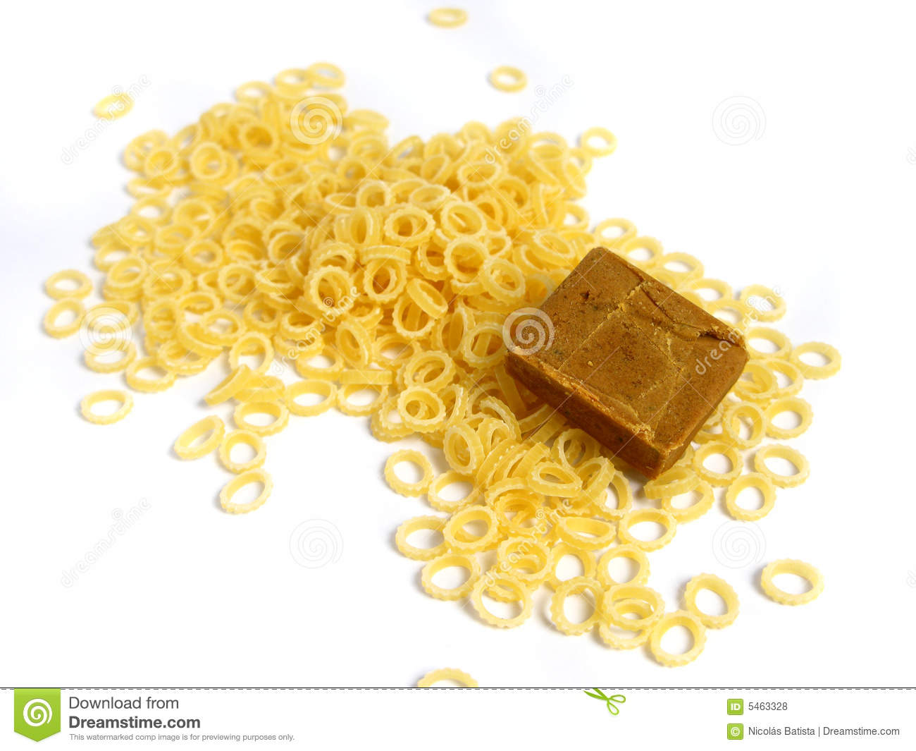 Soup pasta with flavour
