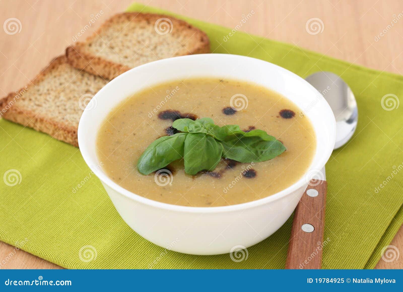 Soup rostar grönsaken