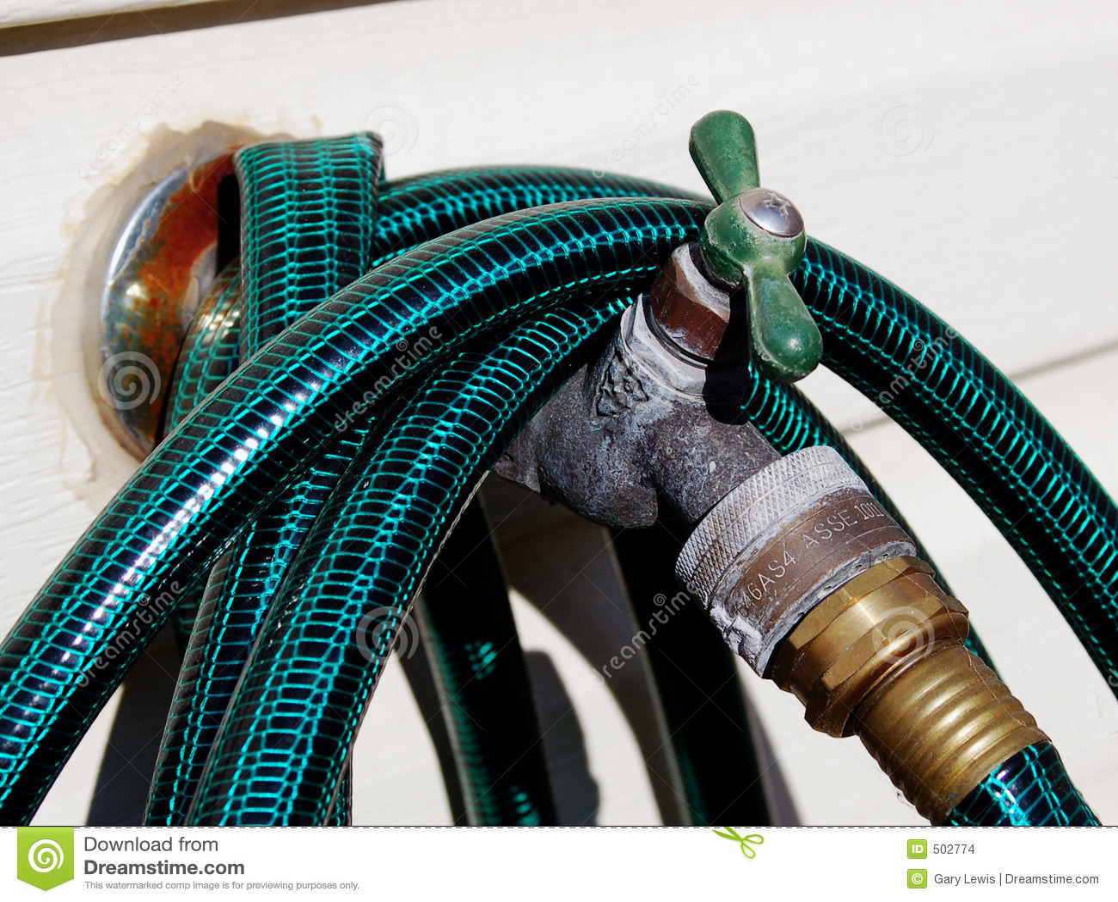 Soupape de l eau d arrière-cour
