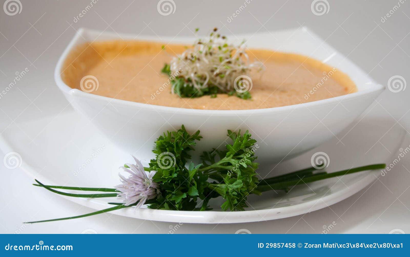 Soupe à potiron