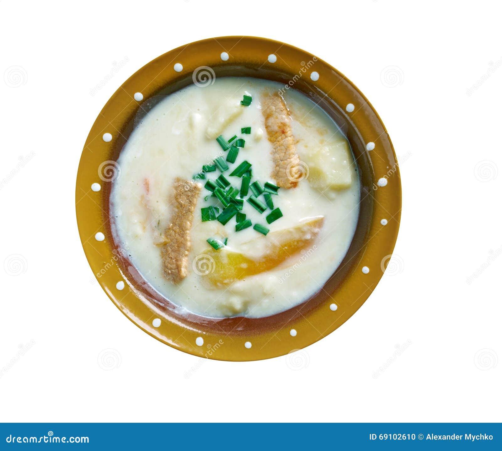 soupe aux pommes de terre de hungarina photo stock image 69102610. Black Bedroom Furniture Sets. Home Design Ideas