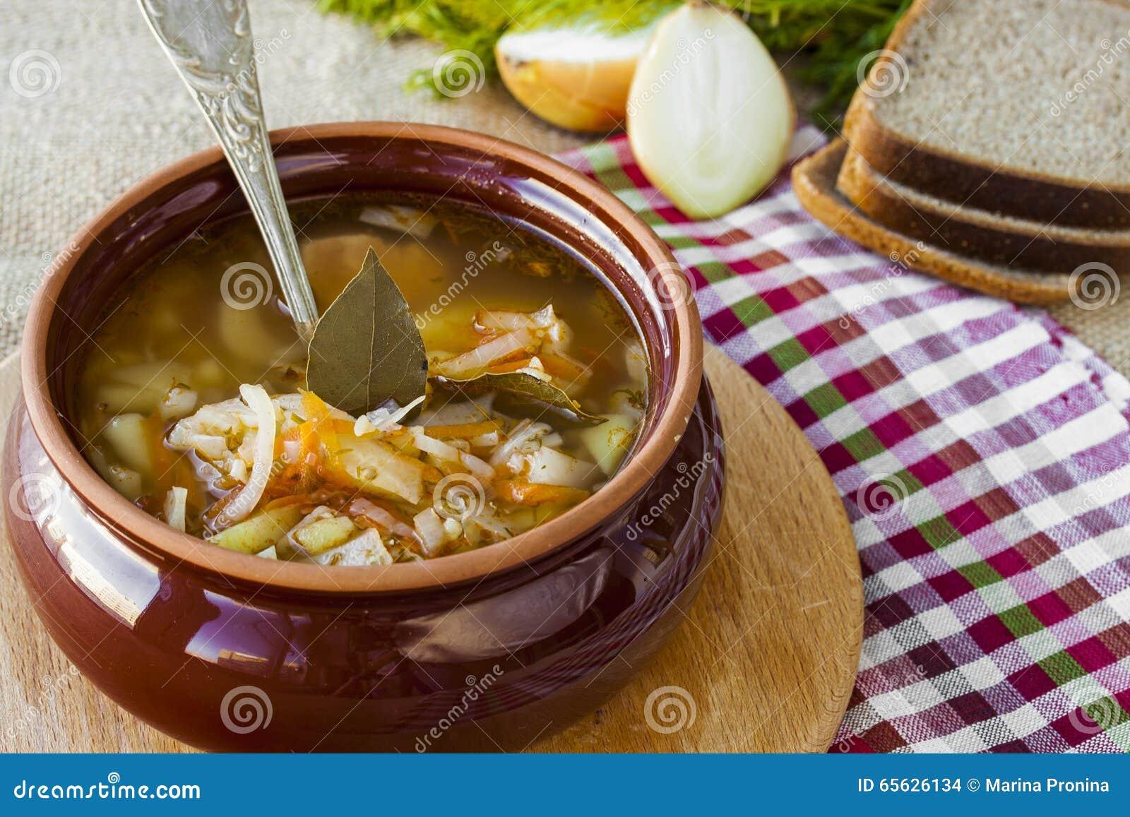 Soupe russe à chou