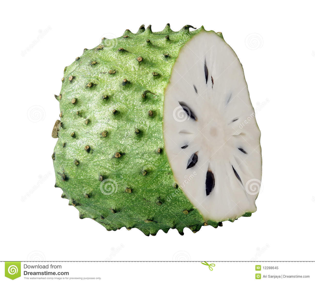 Sour Sop Fruit Royalty Free Stock Photo - Image: 12288645