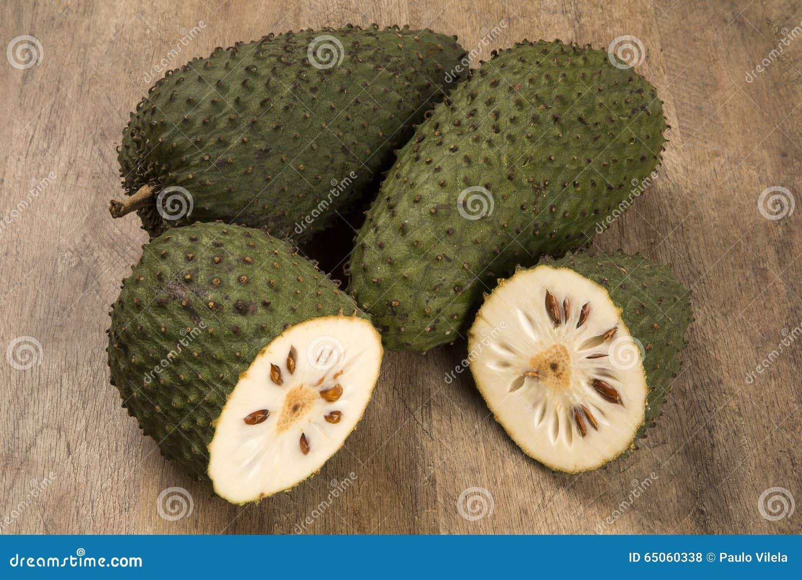 Sour Sop, Prickly Custard Apple  Stock Photo - Image of thorny